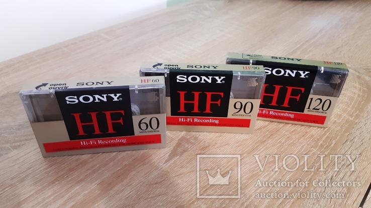 Касети Sony HF60, HF90, HF120 (Release year: 1994), фото №2