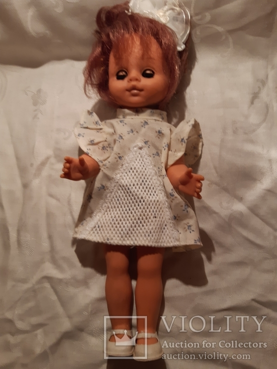 Кукла Хельга 30 см ГДР  - 60-70 г.г., фото №2