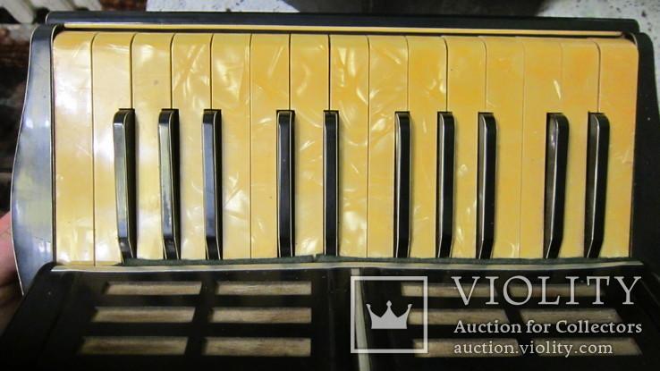 Трофейный аккардион HugoStark (6GANS 7 1\2 IBS. E.A  WT.5(?50-или 59) СU. 1.27, фото №5