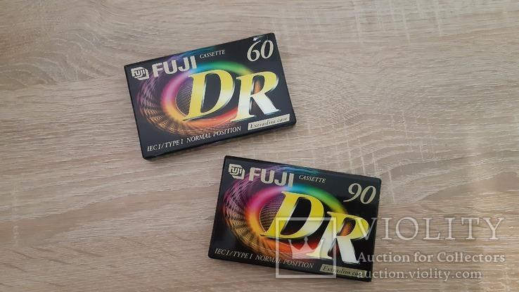 Касети FUJI DR 60, DR 90 (Release year 2001), фото №3
