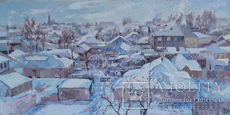 Зима на Ивановке