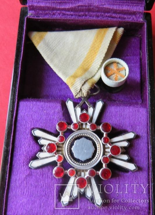 . Орден Священного Сокровища,IVстепени, Японская Империя.