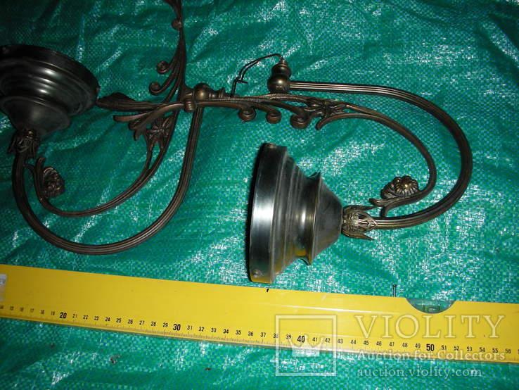Детали,запчасти для люстр,бра,бронза ,латунь(4), фото №3