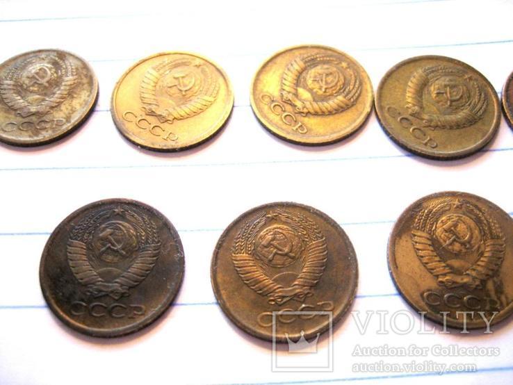 1 коп (1970 - 1979 роки) 10 штук, фото №6