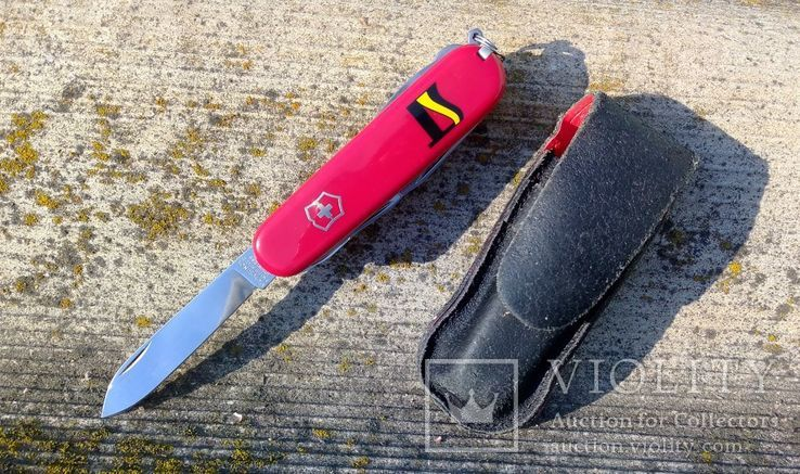 "Нож Victorinox. Клеймо ""Офицер Швейцарии"", фото №2"