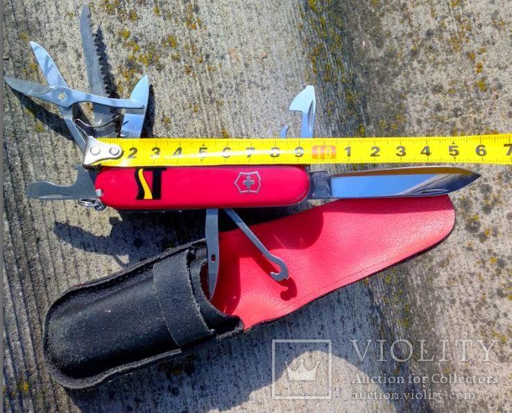"Нож Victorinox. Клеймо ""Офицер Швейцарии"", фото №3"