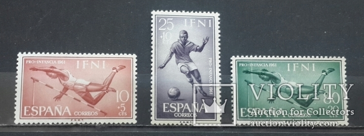 Ифни. Спорт. 1961 год., фото №2
