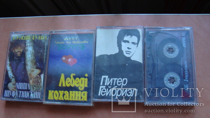 Аудікасети 4 шт, фото №2