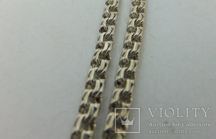Серебряный браслет  (№45), фото №5