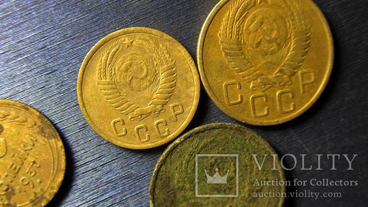 Монеты копаные  11  монет, фото №4