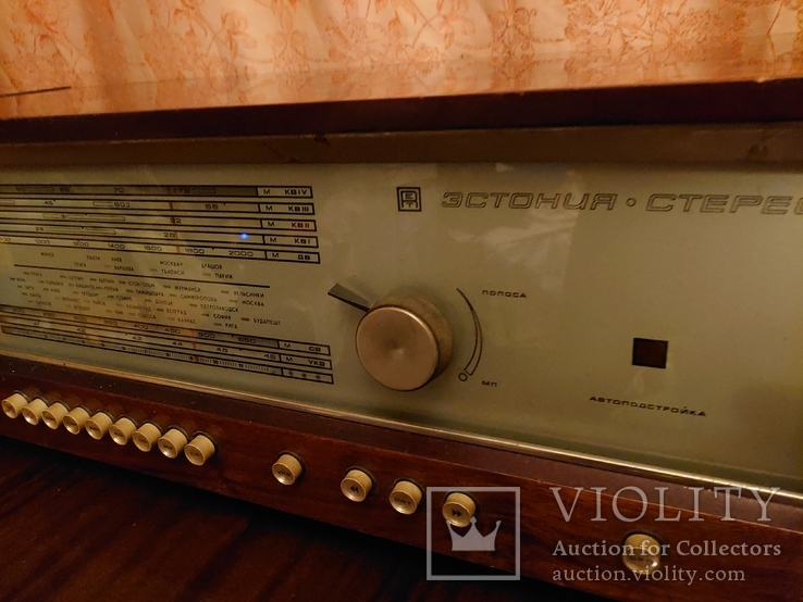 "Радиоприемник "" Эстония стерео "", фото №3"