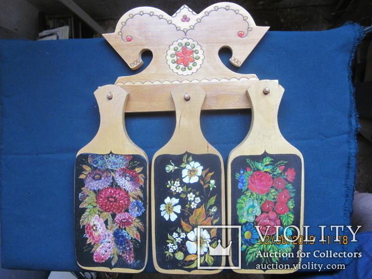Декоративные кухонные доски. Ручная роспись., фото №2
