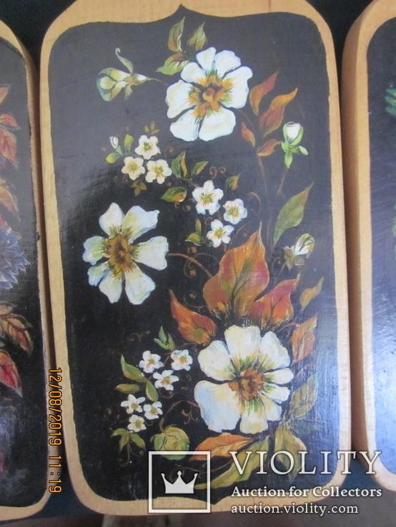 Декоративные кухонные доски. Ручная роспись., фото №4