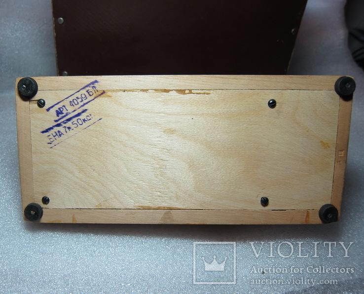Детская швейная машинка СССР в родной коробке, фото №8