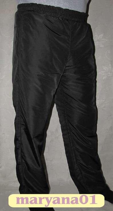 Тёплые штаны на флисе размер L (48-50)