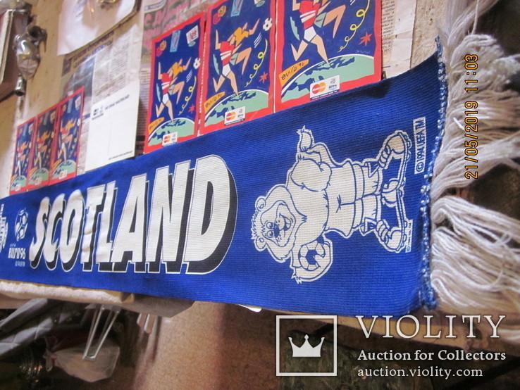 Шарф с Чемпионата Европы по футболу1996 г.(бонус), фото №3
