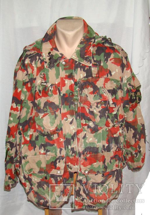 Военная куртка M70 Alpenflage, армия Швейцарии, фото №2