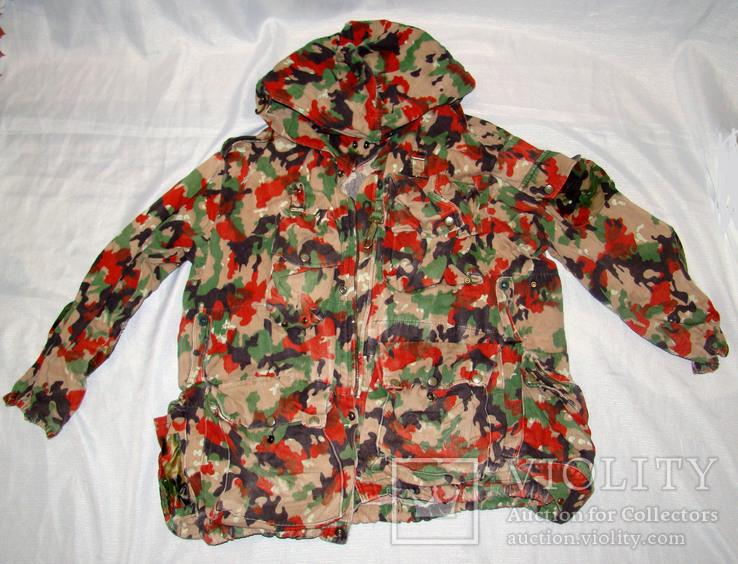 Военная куртка M70 Alpenflage, армия Швейцарии, фото №4