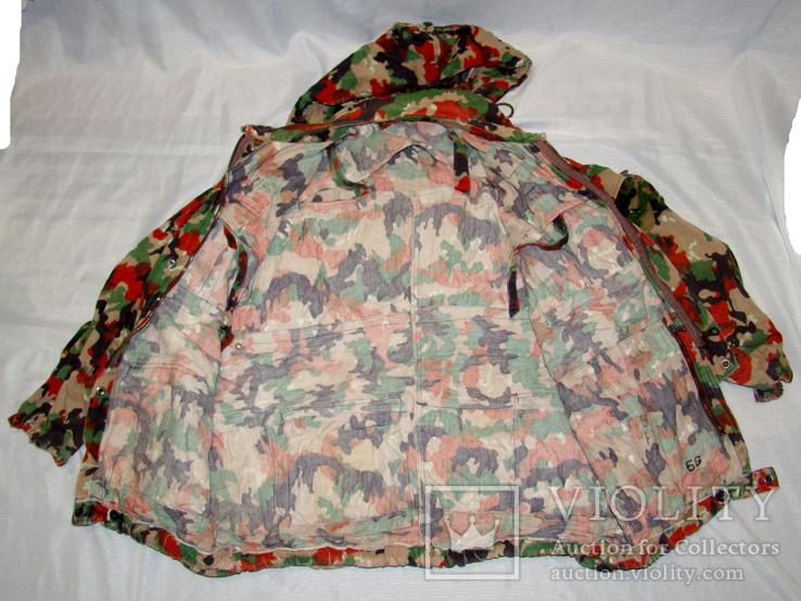 Военная куртка M70 Alpenflage, армия Швейцарии, фото №5