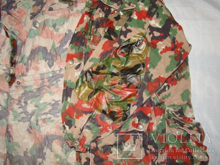 Военная куртка M70 Alpenflage, армия Швейцарии, фото №6