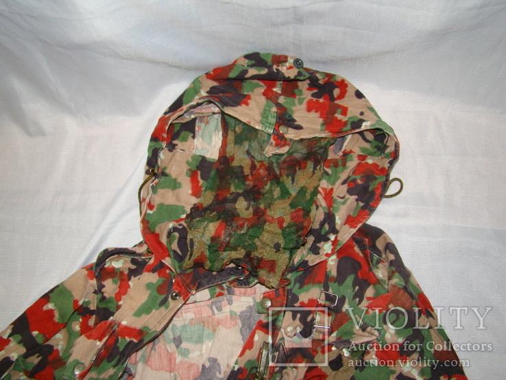 Военная куртка M70 Alpenflage, армия Швейцарии, фото №7