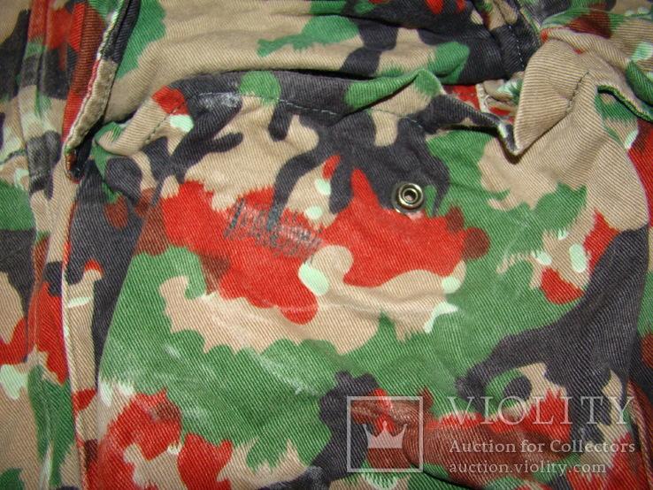 Военная куртка M70 Alpenflage, армия Швейцарии, фото №9
