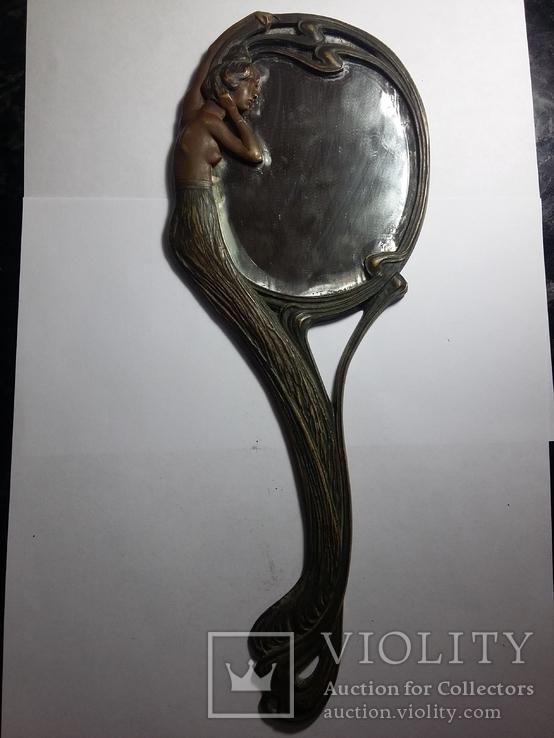 Ручное зеркало в модерне, фото №3