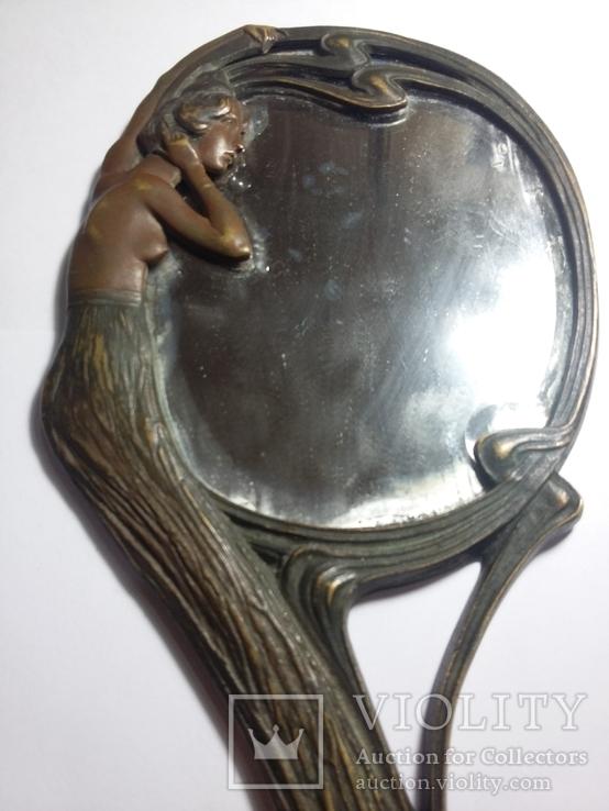 Ручное зеркало в модерне, фото №4