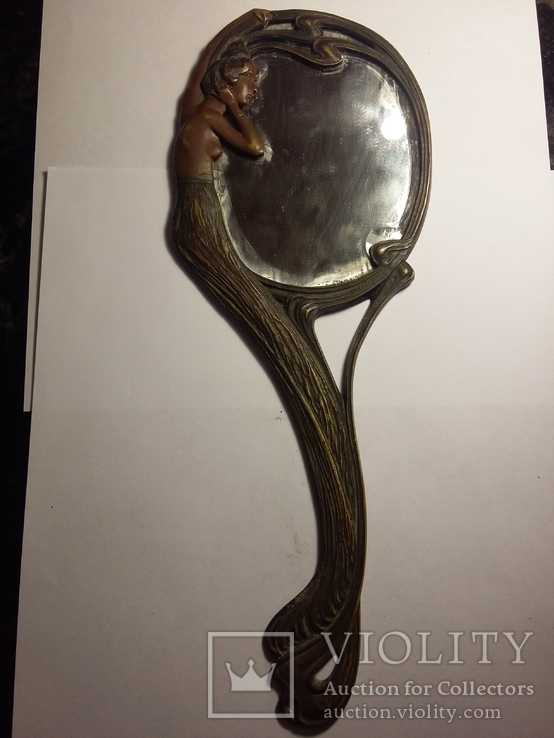 Ручное зеркало в модерне, фото №13
