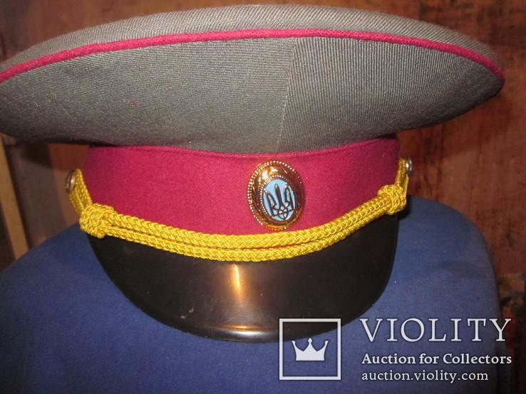 Офицерская общевойсковая фуражка. Украина,1992 г., фото №3