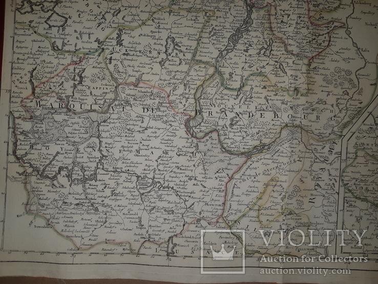 1751 Карта Померании и Бранденбурга, фото №6