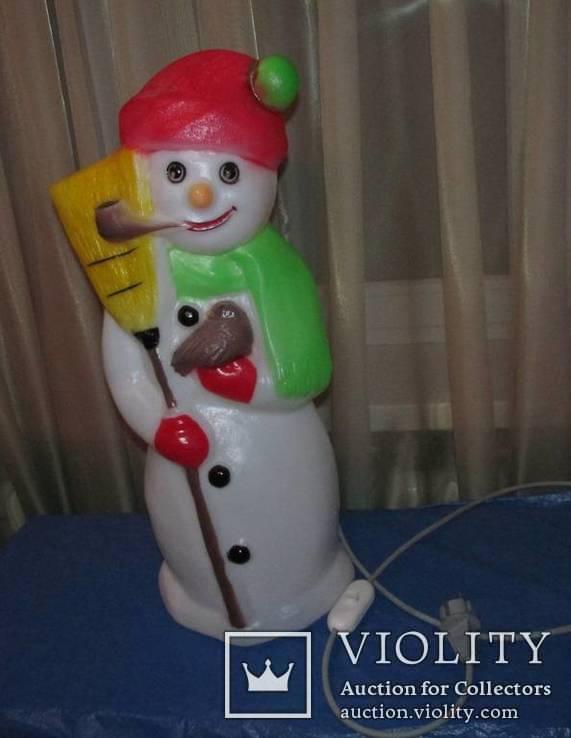 Снеговик светящийся Германия, фото №2