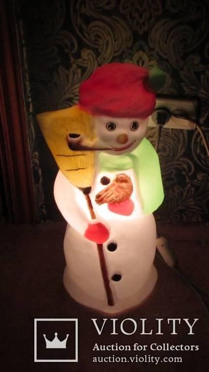 Снеговик светящийся Германия, фото №6