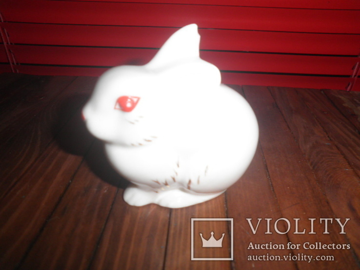 Фарфоровая фигурка кролик, фото №2