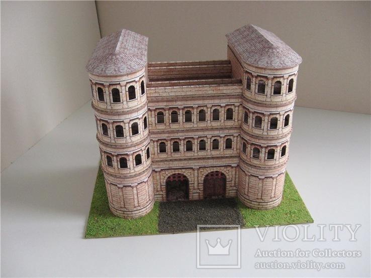 Porta Nigra средневековые ворота в г. Трир Германия, фото №2