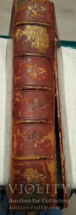 """Старая книга """"The poetikal works of Longfellow"""", фото №6"""