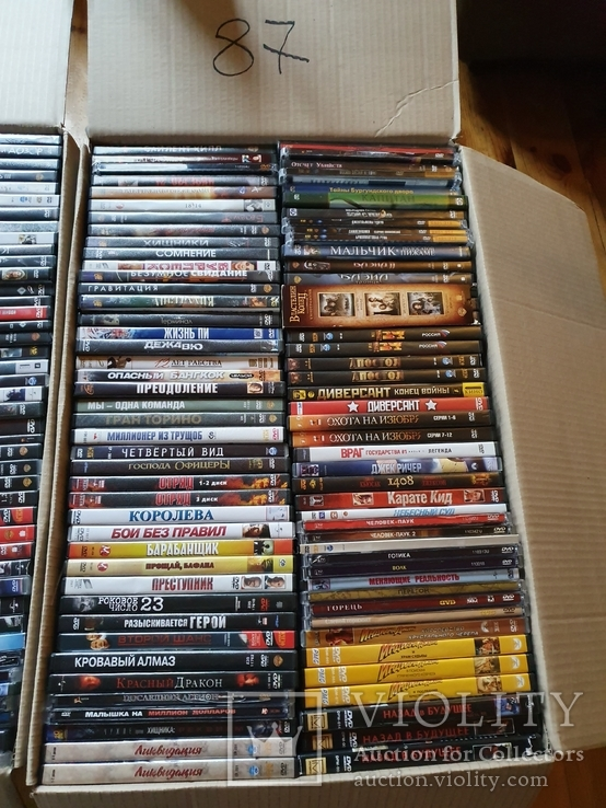 700 лицензионных DVD, фото №2