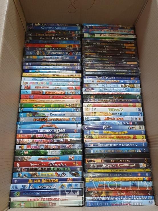 700 лицензионных DVD, фото №9