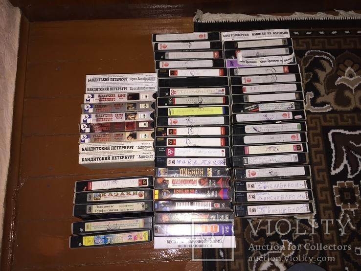 Видеокассеты, 53 шт., фото №2