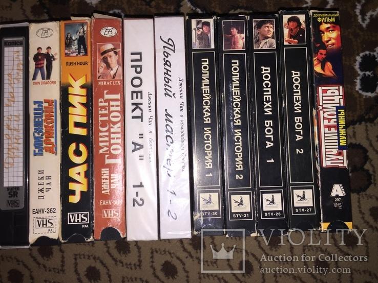 Коллекция Видеокассеты, 20 шт. боевики Джеки Чан, фото №4