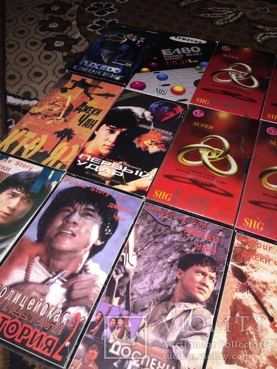 Коллекция Видеокассеты, 20 шт. боевики Джеки Чан, фото №7