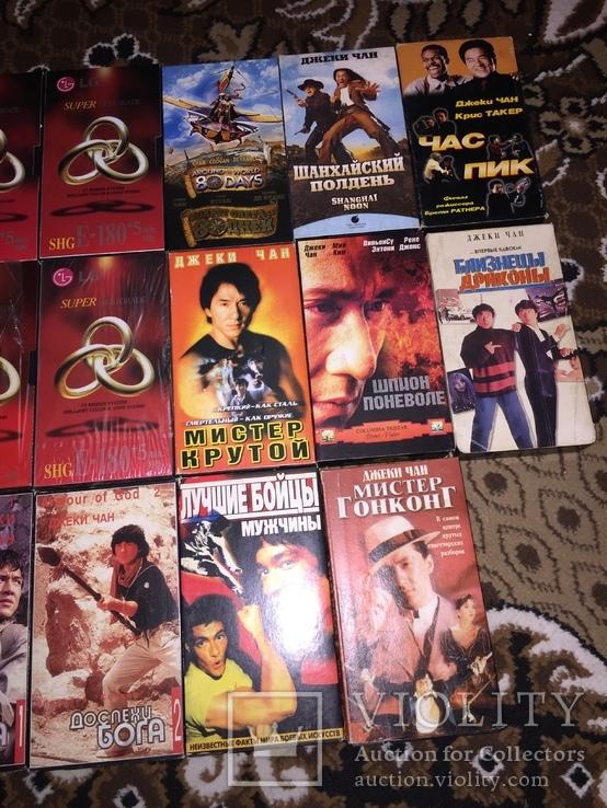 Коллекция Видеокассеты, 20 шт. боевики Джеки Чан, фото №9