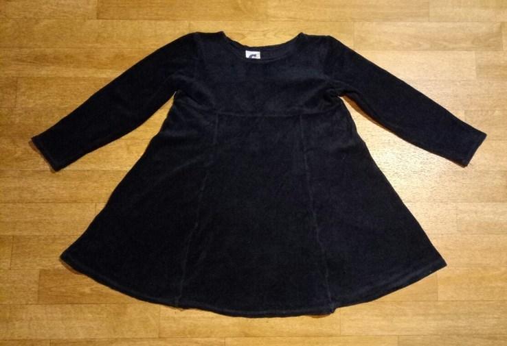 Платье на девочку. 75% коттон.