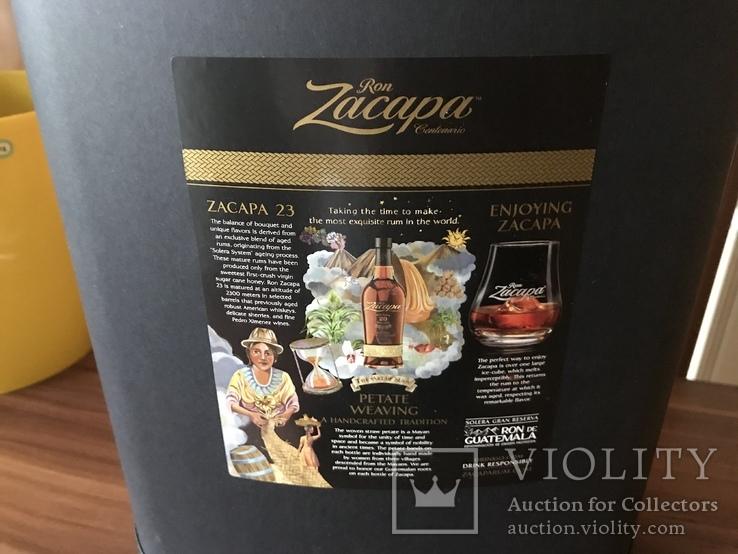 Zacapa cent 23 года в подарочной упаковке, фото №5