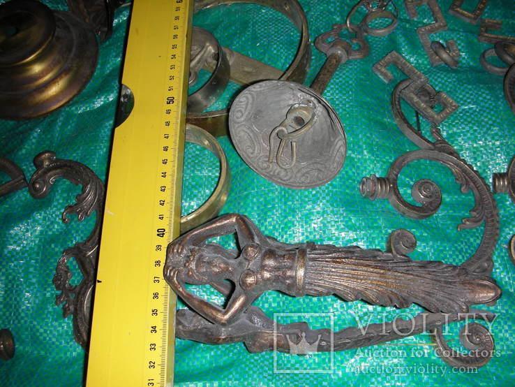 Детали,запчасти для люстр,бра,бронза ,латунь(8), фото №2
