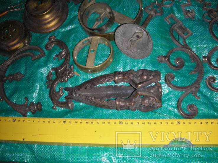 Детали,запчасти для люстр,бра,бронза ,латунь(8), фото №4