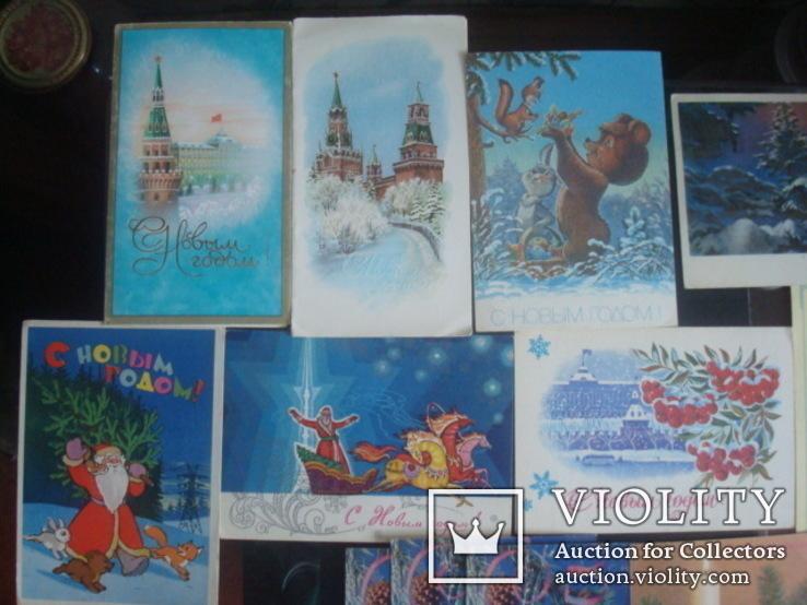 Открытки СССР- С Новым годом, фото №4