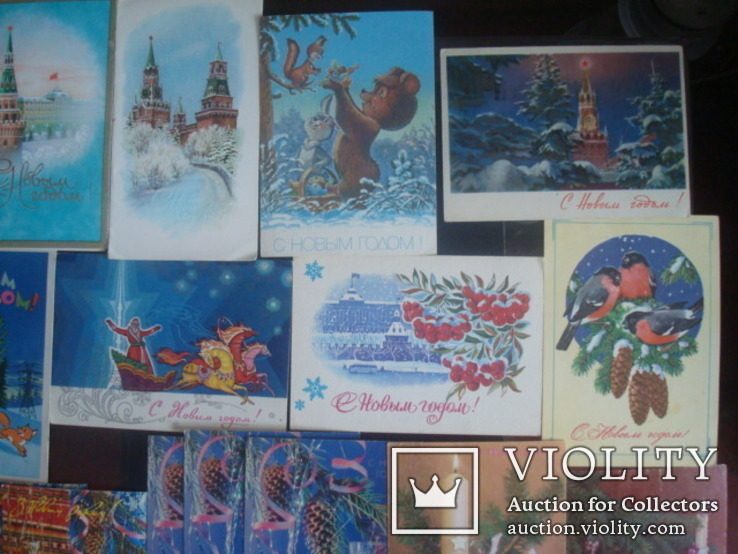 Открытки СССР- С Новым годом, фото №5