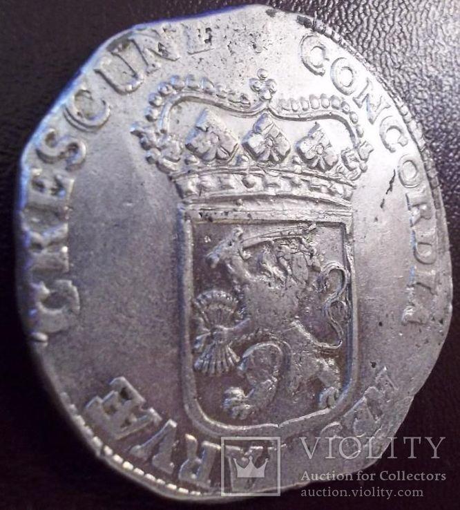 Срібний дукат 1690 р. Утрехт Нідерланди, фото №10