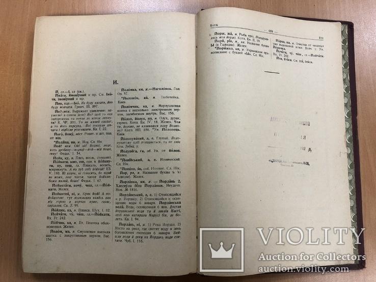 Словник Української мови. Київ 1927 рік, фото №12